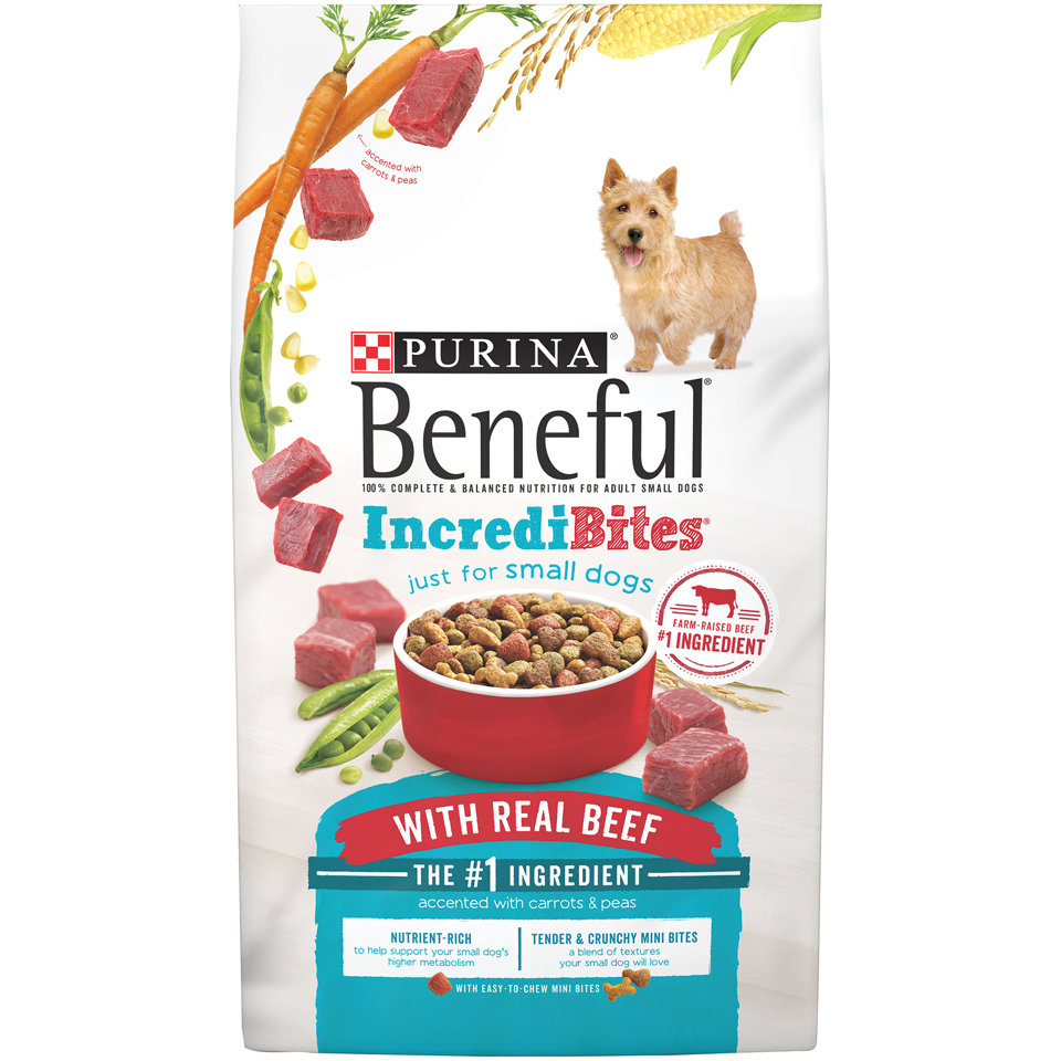 Purina Beneful IncrediBites With Real Beef Dog Food 6.3 lb. Bag