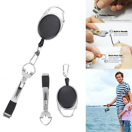 Fly Fishing Fishing Line - Zerone Multi-functional Fly Fishing Quick Knot Tool Line Cutter Clipper Nipper Tackle,Fishing Line Clipper