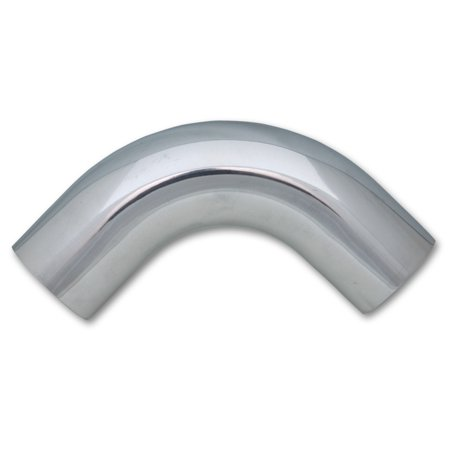 Vibrant Performance 2884 Air Intake Tube Fabrication Components 2 Inch Outside Diameter; 90 Degree Elbow With 2-1/2 Inch Center Line Radius; 4-1/2 Inch Leg Length; Polished; Silver; Aluminum - image 1 of 1