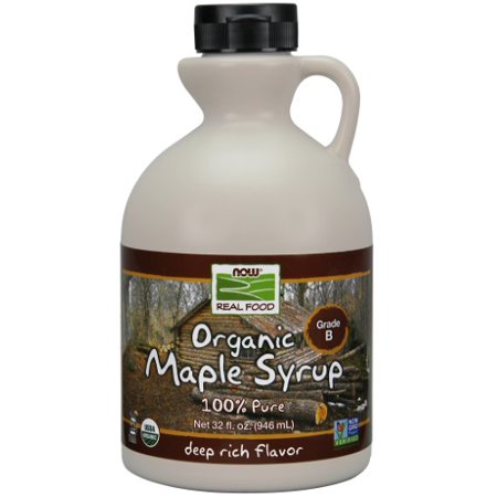 NOW Foods Maple Syrup Grade B Org 32 Ounce