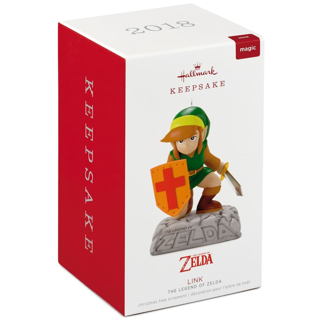 Hallmark Keepsake 2018 The Legend of Zelda Link Ornament With Sound