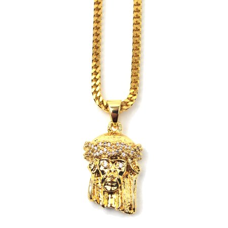 tag products necklace piece jesus dog image product