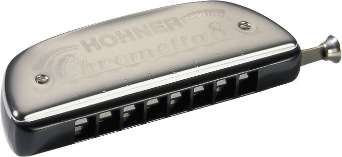 Hohner Accordions 257 Chrometta 14 Harmonica Key Of C Major 257-C