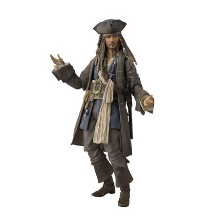 Pirates of the Caribbean Captain Jack Sparrow About 150 mm ABS & PVC painted movable figure by -