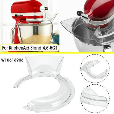 4.5-5QT Bowl Pouring Shield Tilt Head Parts For KitchenAid Stand Mixer (Mixer Pouring Shield)