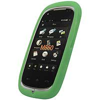 Green Gel Silicone Skin Case For Samsung Instinct HD M850 [Cellet Packaging]