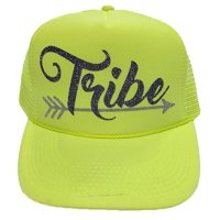 14823b232bc Product Image Solid Neon Bachelorette Party Bride Tribe Mesh Trucker Snap  Back Hat (Solid Neon Yellow