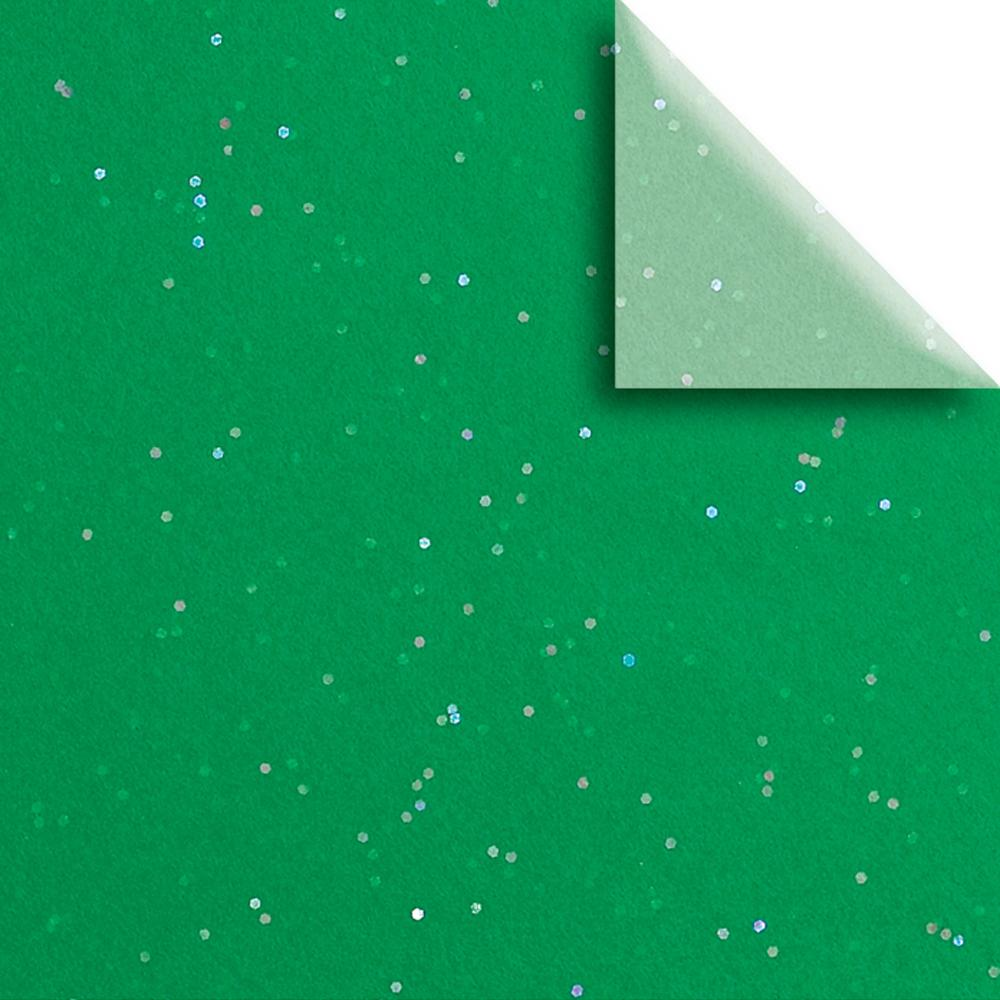 "Jillson & Roberts Gemstone Gift Tissue 20"" x 30"", Green (24 Sheets)"