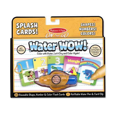Melissa & Doug Water WOW Kit (Numbers, Colors and Shapes) - Water Wow Melissa And Doug