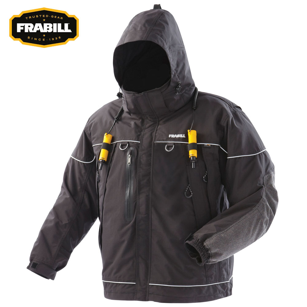 Frabill I5 Series Jacket (L)- Black