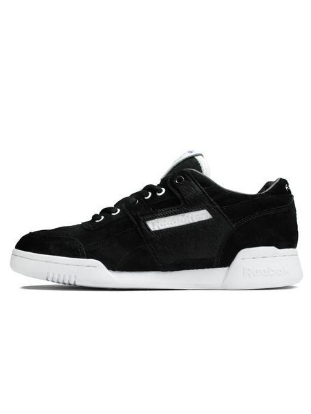 Mens Reebok x Foot Patrol Workout Plus Black White BS5406
