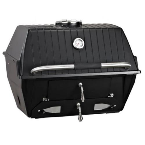 Charcoal Grill with Stainless Steel Rod Multi-Level Grids by