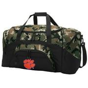 Clemson CAMO Duffel Bag Clemson University GYM BAG