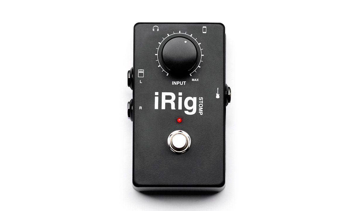 IK Multimedia iRig STOMP Interface for iOS i-Rig I-K 1-K 1K by IK Multimedia
