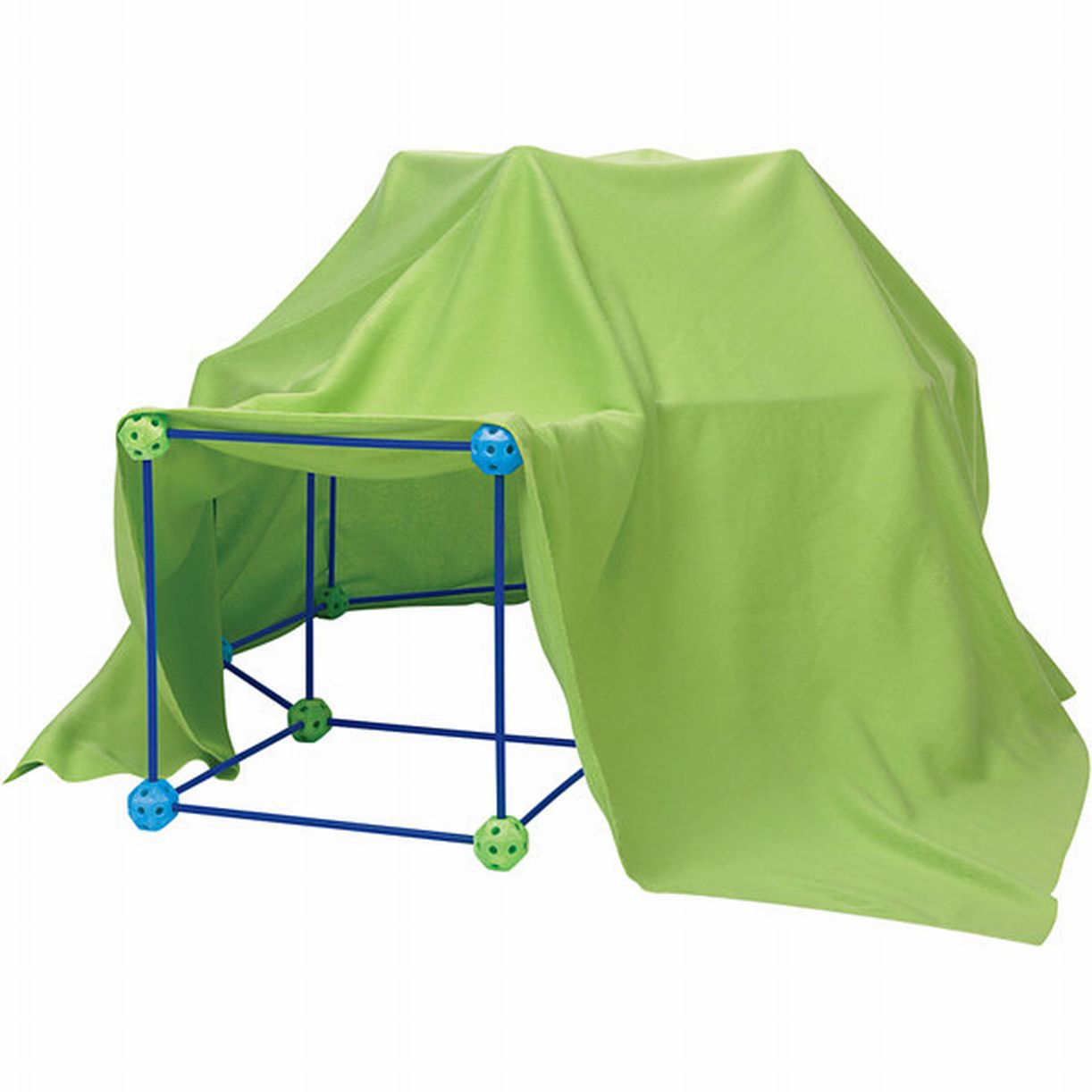 Discovery Kids 77-piece Build and Play Construction Fort Set Playhouse Play Tent  sc 1 st  Walmart & Discovery Kids 77-piece Build and Play Construction Fort Set ...