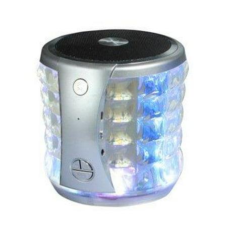 Portable Mini Wireless Speaker w/ Flashing Lights for  Xperia 1, 10 Plus, 10, L3, Alcatel 3L, 3 (2019), 1s, 1x (2019)
