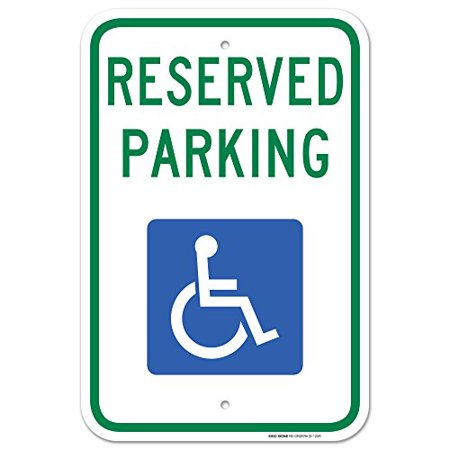 Handicap Parking Sign - Federal 12
