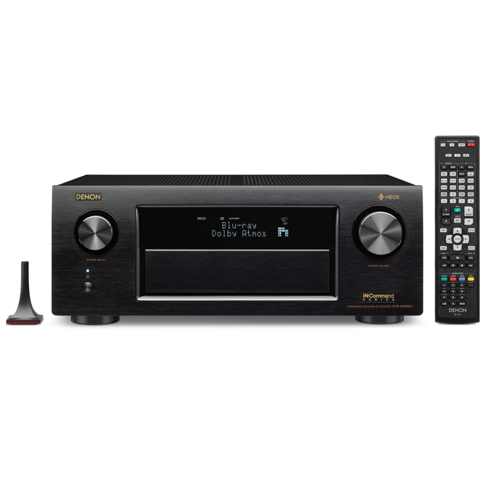 Denon AVR-X4300H 9.2-Channel Full 4K Ultra HD A V Receiver with Built-In HEOS Wireless Technology by Denon