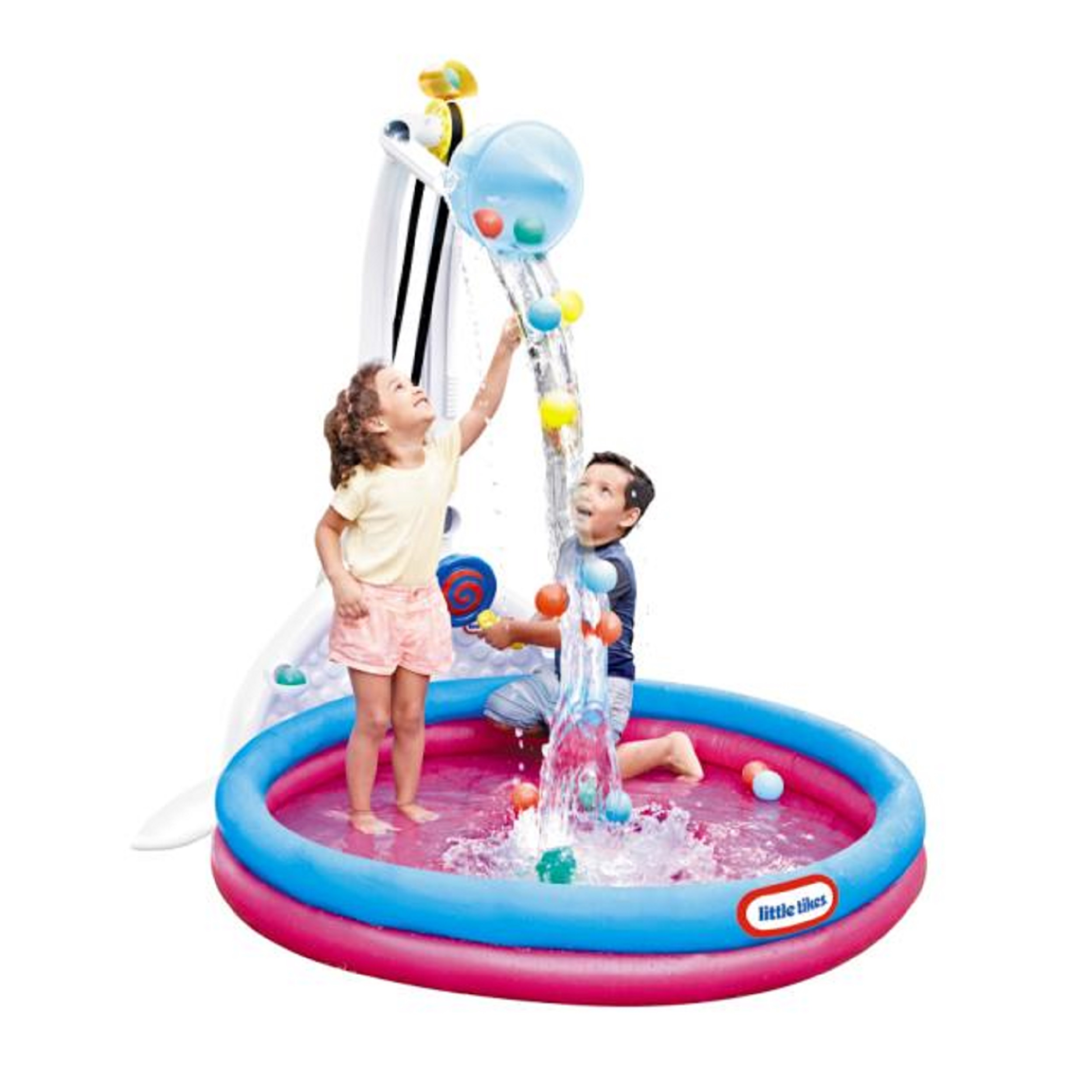 Little Tikes Fun Zone Drop Zone Kiddie Swimming Pool, Indoor/Outdoor