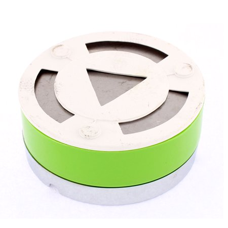 Unique Bargains Home Office Cylinder Shaped Rotary Lid Cigarette Ashtray Ash Holder Container - image 2 de 3