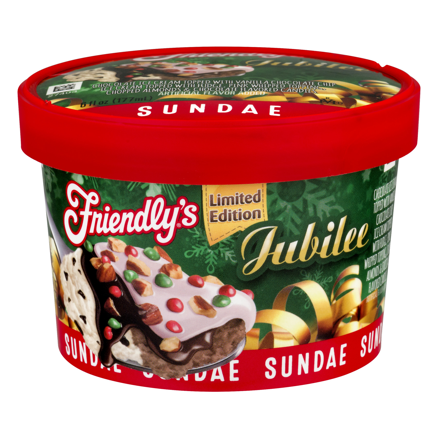 Friendly's Sundae Jubilee, 6.0 FL OZ