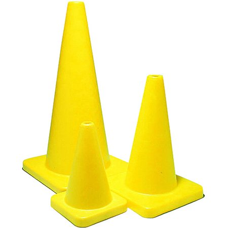 Sportime Yeller High Quality Game Cone, Multiple Sizes, High