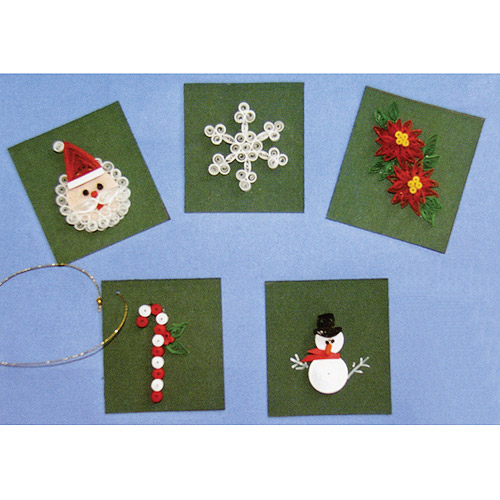 Lake City Craft Quilling Kit, Christmas Cards & Tags