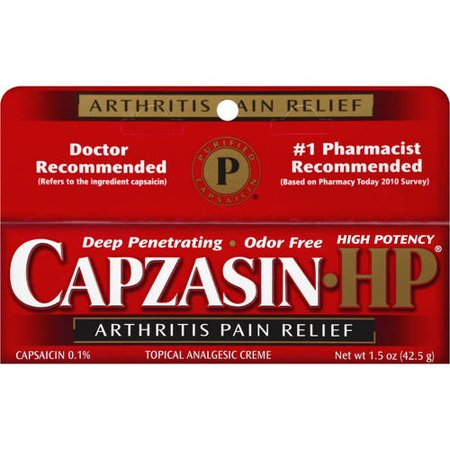 Capzasin High Potency Arthritis Pain Relief 1.5oz