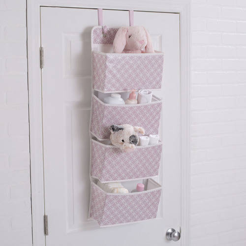 Delta Children Deluxe Water-Resistant 4 Pocket Hanging Wall Organizer by