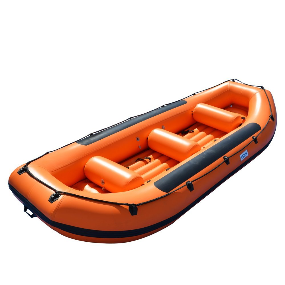 BRIS 14.1Ft White Water River Raft Inflatable Boat Raft