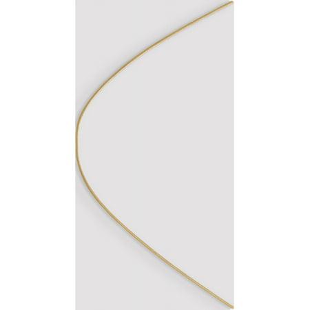 Cha?ne serpent ronde en or jaune 10K - image 2 de 6