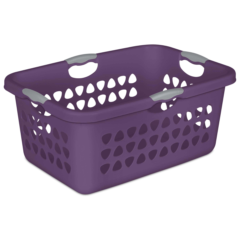 Sterilite 2 Bushel Ultra Laundry Basket Moda Purple Case Of 6 Walmart Com Walmart Com