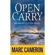 Open Carry: An Arliss Cutter Novel (Hardcover)(Large Print)
