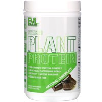 EVLution Nutrition Stacked Plant Protein, Natural Chocolate, 1.5 lb (670 g)