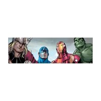 Avengers Assemble Style Guide: Thor, Captain America, Iron Man, Hulk Print Wall Art