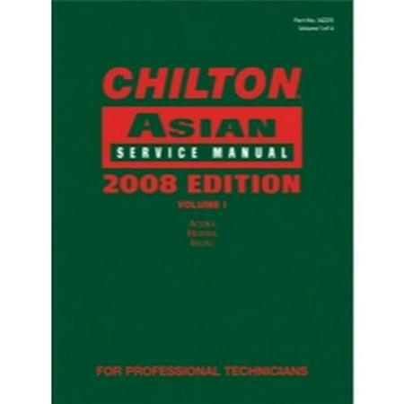 Chilton 2008 Asian Service Manual Volume 1