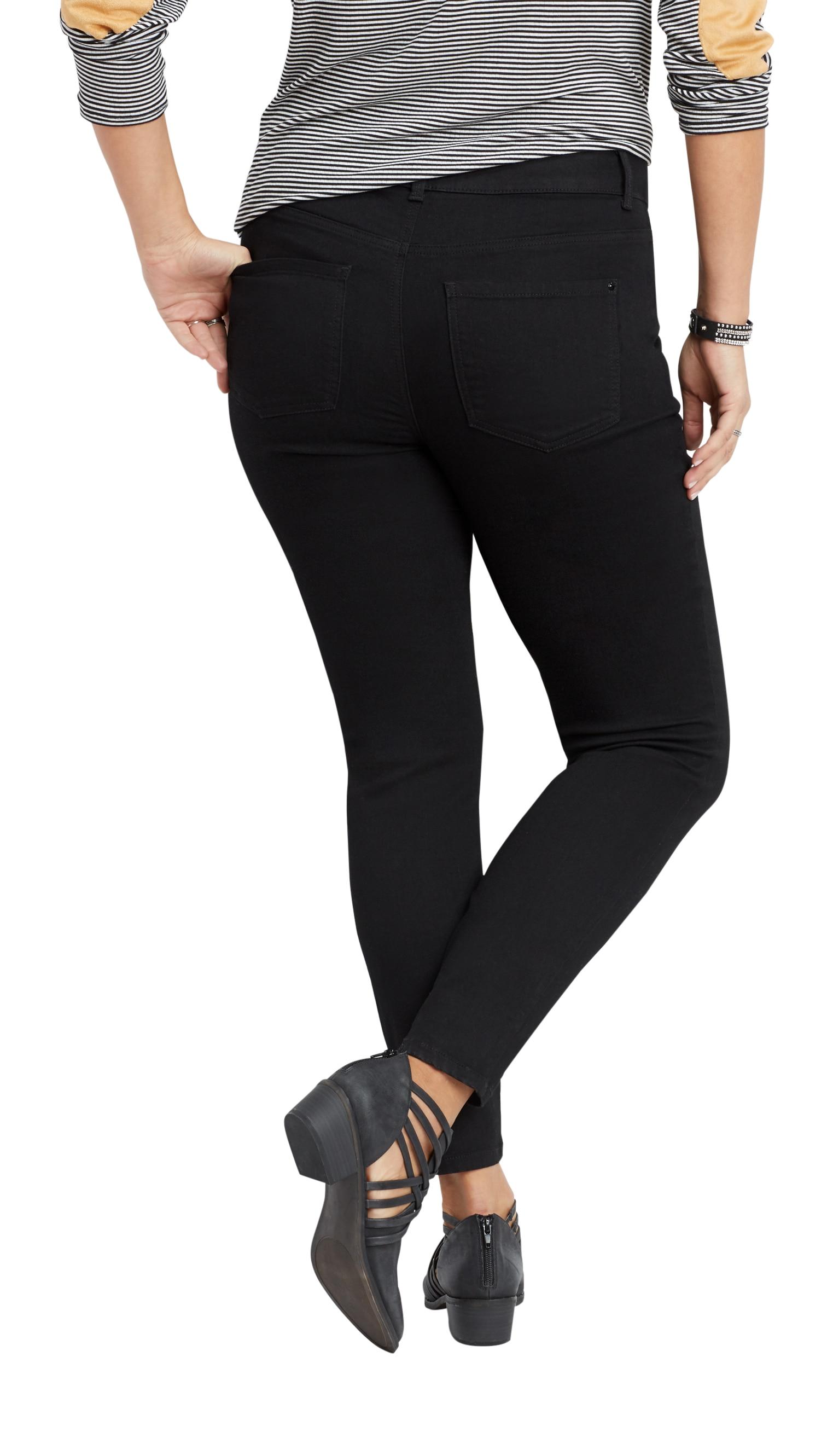 4df737ca77b maurices - Maurices Women s Everflex Skinny Jeans - Plus Size Dark Rinse  High Rise - Walmart.com