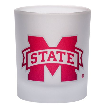 Mississippi State Bulldogs 8.45oz. Frosted Rocks Glass - No Size