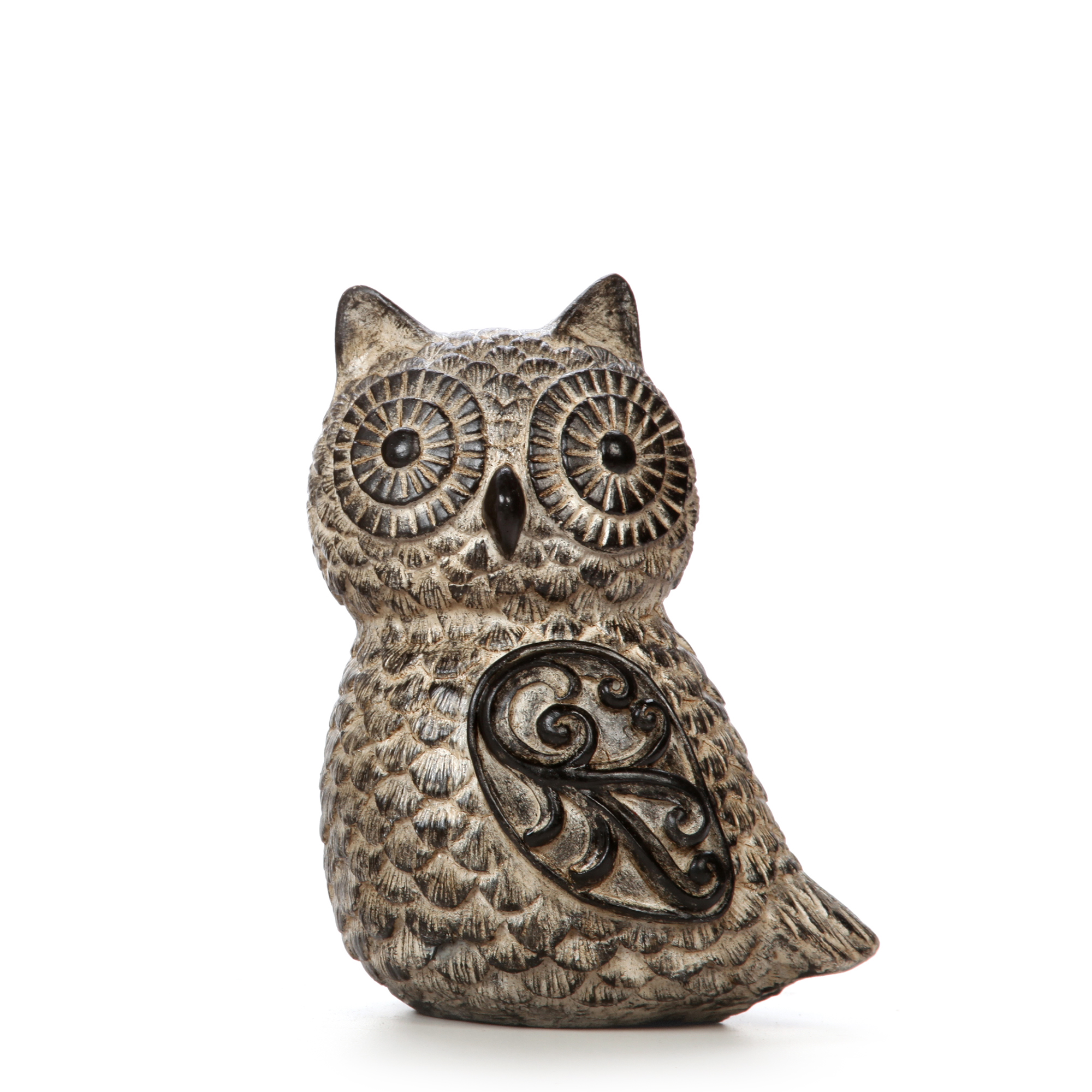Hosley Elegant Expressions Tabletop Resin Owl, Small