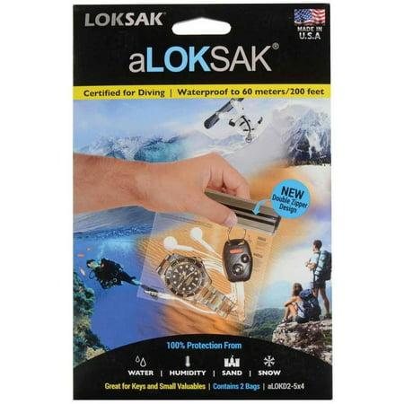 Aloksak Waterproof Bags - Loksak Aloksak 5 x 4.75 Bag