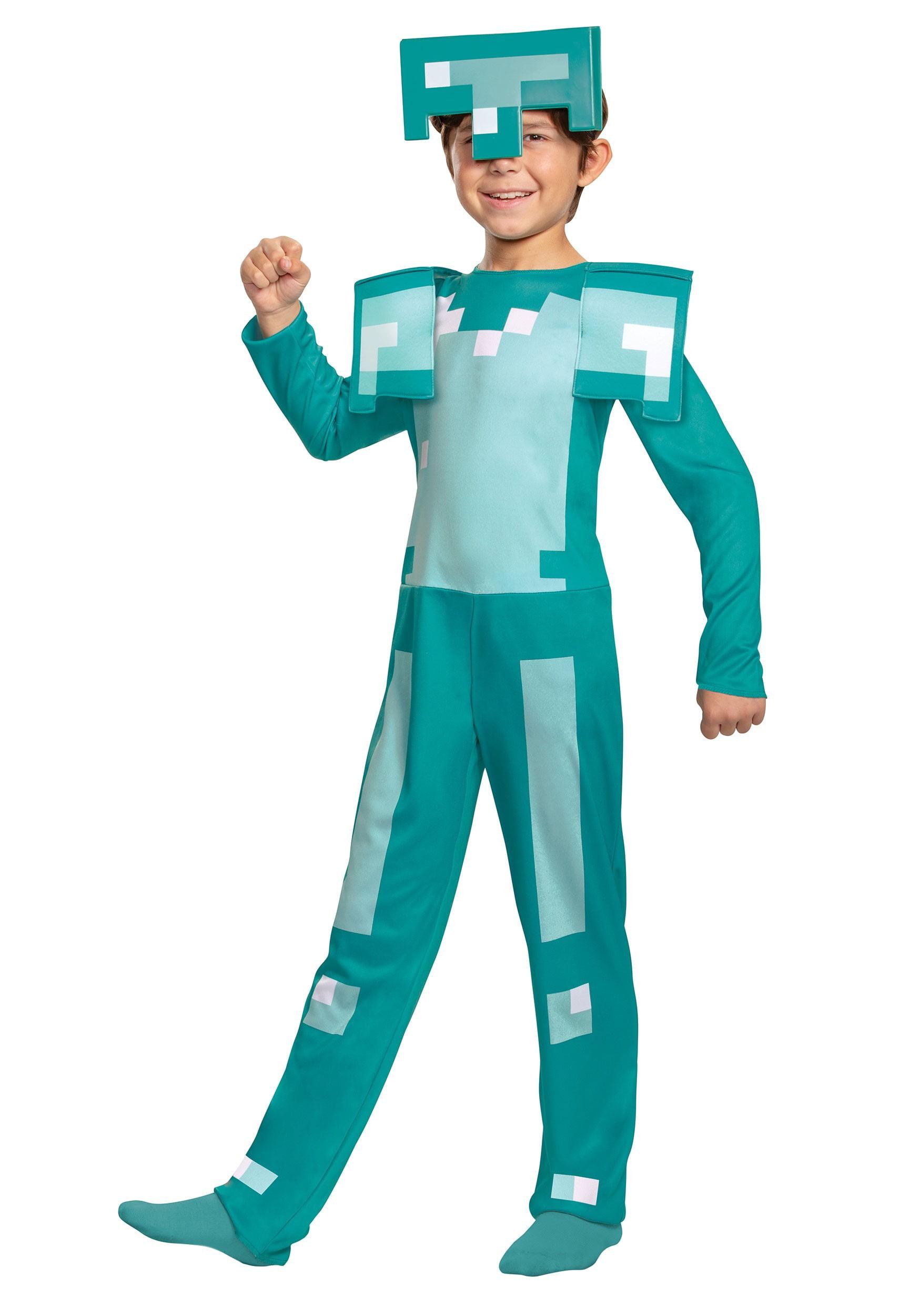 Minecraft Armor Boys' Jumpsuit Costume