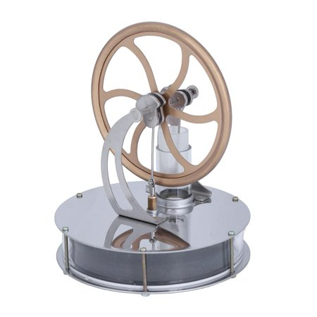 HERCHR Engine Motor, Low Temperature Stirling Engine Motor Steam Heat Education Model Toy Gift For Kids Craft Orname,Low Temperature Stirling Engine ,Engine