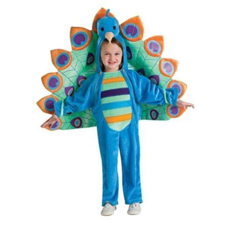 Peacock Newborn Costume