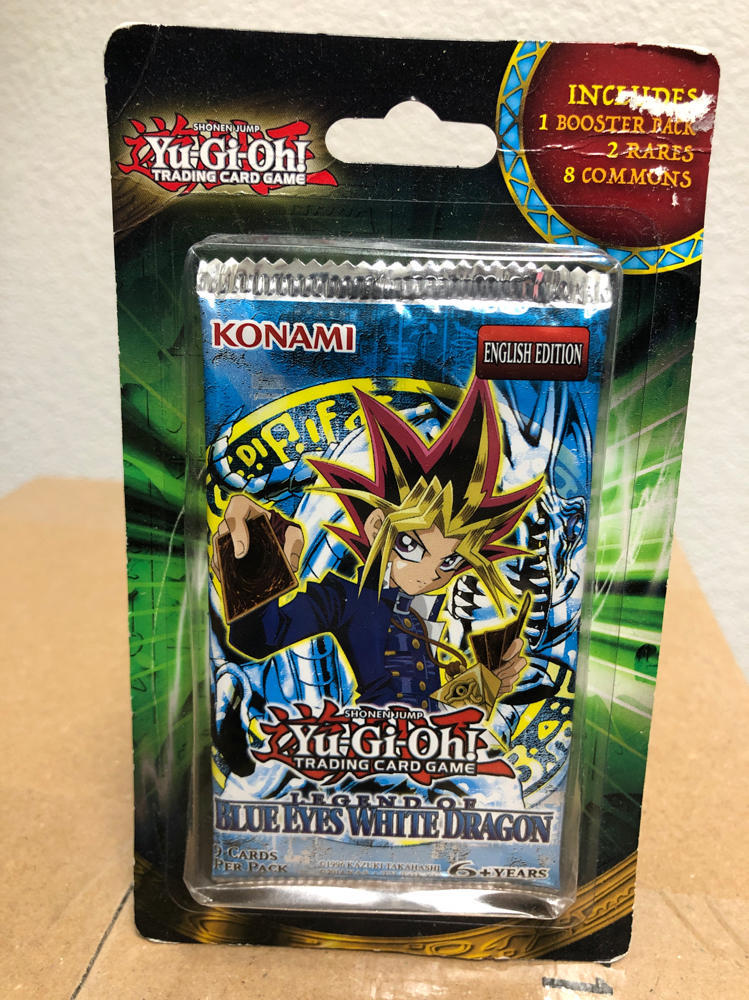 YuGiOh Metal Raiders Booster Pack English Edition Factory Sealed 9 Card Konami S