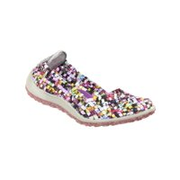 981101804 Product Image Zee Alexis Spice Womens Woven Slip On Shoes Mosaic Multi 7.5 M