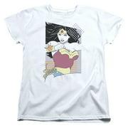 Jla - Ww 80S Minimal - Women's Short Sleeve Shirt - Small