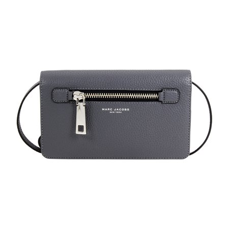 539c8453e0cf Marc Jacobs - Gotham Ladies Small Shadow Pebble Leather Crossbody Handbag  M0008464 - Walmart.com