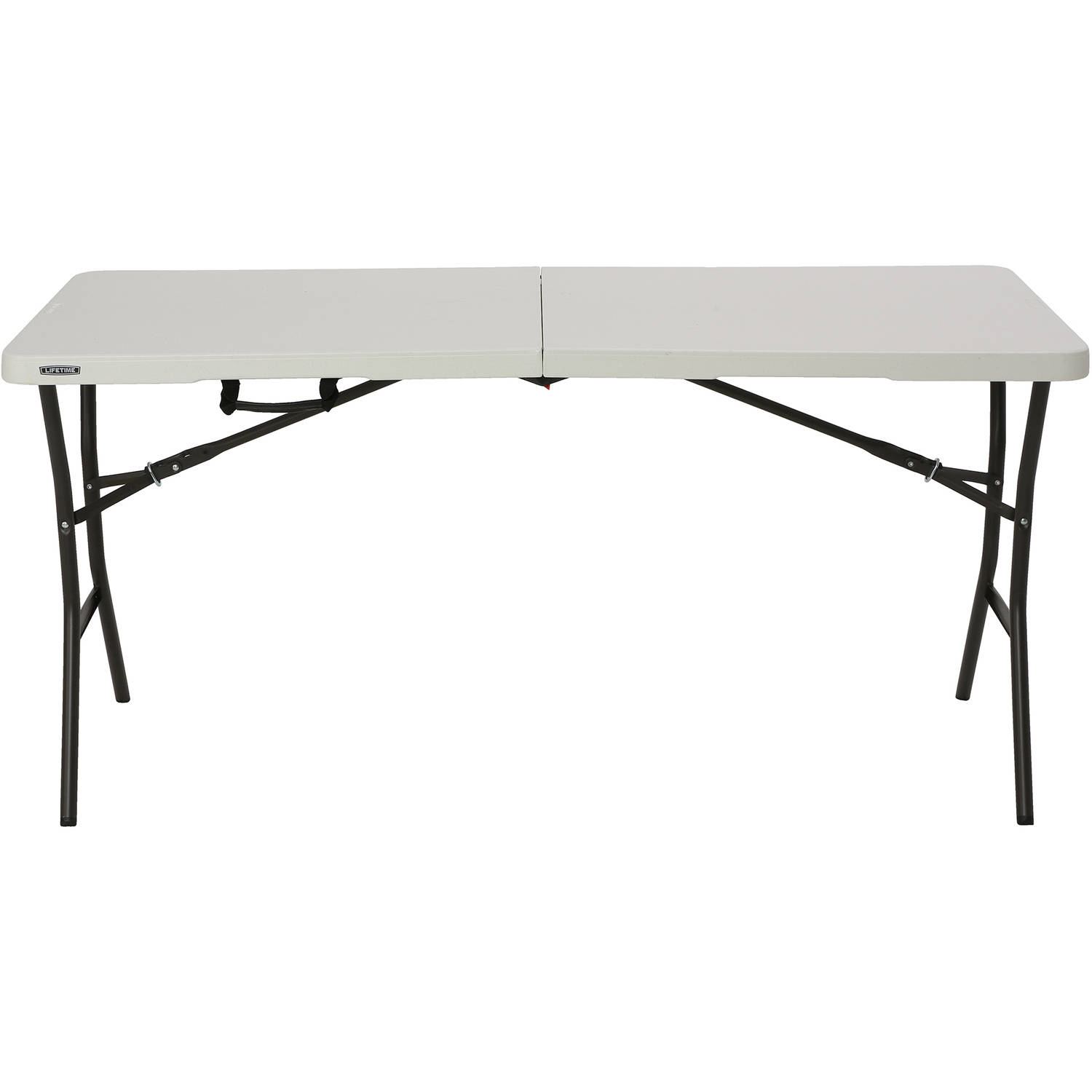 lifetime folding camping table bbq picnic dining portable