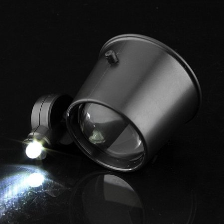 15X LED Magnifier Eye Loupe HeadBand Jewelers Magnifying Glass Watchmakers - image 2 of 12