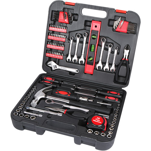 Hardware Machinery 119-Piece Home and Garage Tool Set